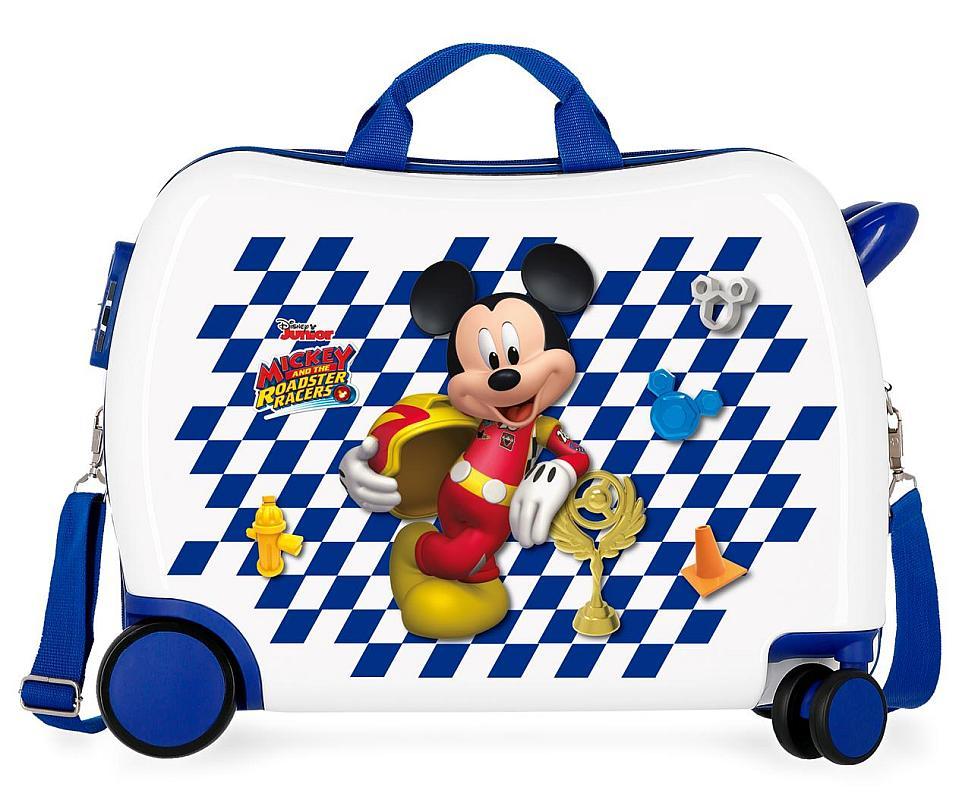 97352fde86227 Detský kufrík na kolieskach Mickey Good Mood MAXI