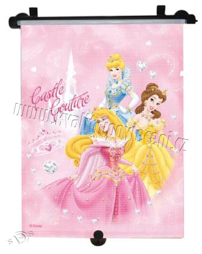Roletka Princess ružová (slnečná clona, autoroletka, tienidlo Princess ružová)