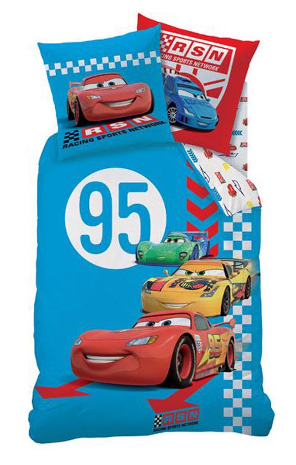 72bf78d65f CTI Obliečky Cars Red Tire bavlna 140 200