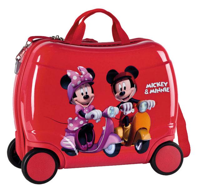 e3ebcf0409974 JOUMMABAGS detský kufrík na kolieskach Mickey a Minnie 2014 46x30x21 cm