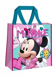 a5a253e21b Detská nákupná taška Minnie hearts 38 cm empty