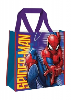 ab08e6124e136 Detská nákupná taška Spiderman 38 cm empty