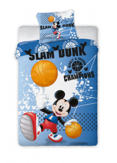 Obliečky Mickey Mouse basketbal