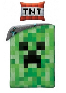 Obliečky Minecraft Creeper Face