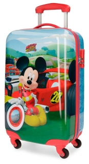 ABS cestovný kufor Mickey Roadster Racers 55 cm