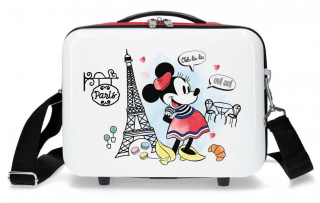 ABS Kabelka Minnie Around the World Paris Red