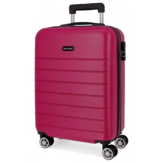 ABS Cestovný kufor Roll Road Magazine Fuchsia 55 cm