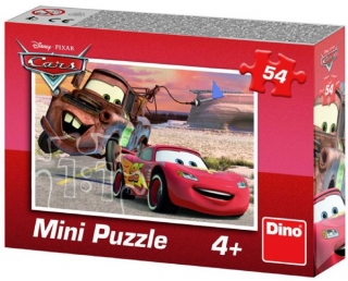 Puzzle Cars Auta Blesk a Mater 54 dielov