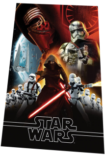 Fleece deka Star Wars VII