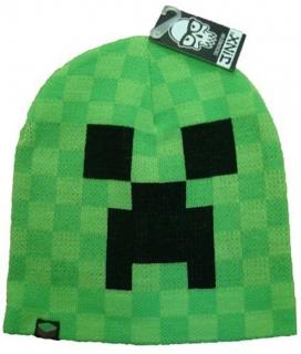 89dbfccfc5fe Zimná čapica Minecraft Creeper Face vel. 54 56 empty