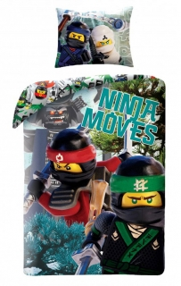 Obliečky Lego Ninjago Movie