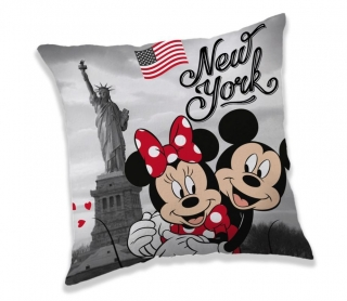 Obliečka na Vankúšik Mickey a Minnie New York micro