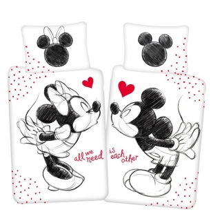 Obliečky Mickey a Minnie All We Need