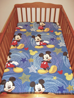 Plachta do postieľky Mickey Mouse 60/120